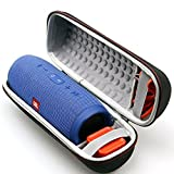 LTGEM Case Travel Carrying Storage Bag for JBL Charge 3 Waterproof Portable Wireless Bluetooth Speaker. Fits USB Cable and Charger.