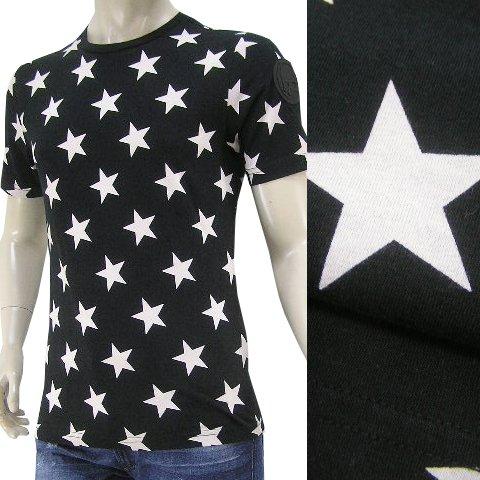 ハイドロゲン HYDROGEN メンズ 半袖Tシャツ 220112 007 ブラック 18ss [並行輸入品] B07F6RFN3T XL ブラック ブラック XL