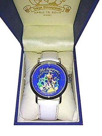 info for 2e55b e321b Amazon.co.jp: ディズニーランド 31周年 美女と野獣 腕時計 35 ...