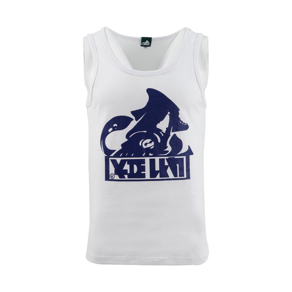 T-Shirt Vest Squid Socks King Flip Mesh Hat Cosplay Accessories (Small, White)