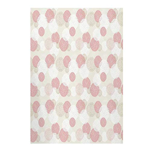 Pastel Stylish Backdrop,Soft Toned Spring Floral Motif with Peony Blossoms Petals Elegance Decorative for Photography,39