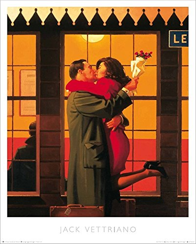 jack vettriano poster back where you belong