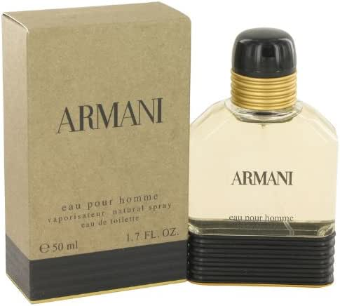 Giorgio Armani Men Eau De Toilette EDT Spray 1.7oz / 50ml