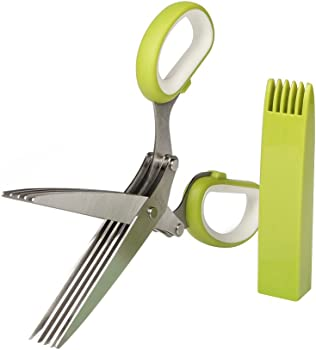 Vofo Stainless Steel Herb Scissors