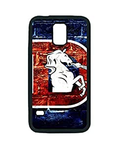 Denver Broncos Denver ~ Iphone 5/5S Black Rubber Tpu Case ~ Silicone Patterned Protective Skin Rubber Case Cover for Iphone 5/5S - Haxlly Designs Case
