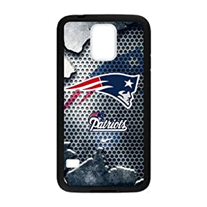 Hoomin Cool New England Patriots Samsung Galaxy S5 Cell Phone Cases Cover Popular Gifts(Laster Technology)