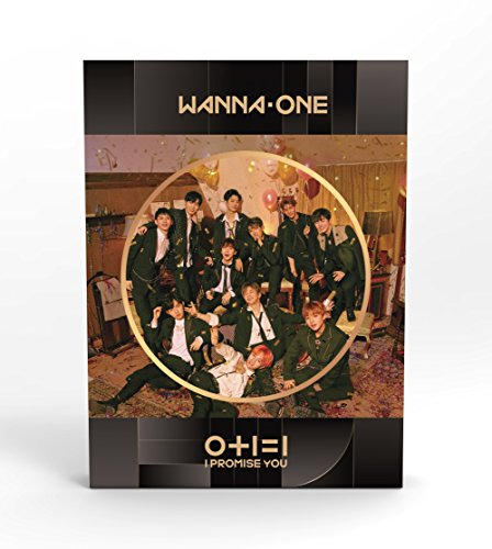 WANNA ONE - 0+1=1 I PROMISE YOU (2nd Mini Album) [Night ver.] CD+Photobook+Photocard+Mirror Card+Tazo+Folded Poster+Free Gift (1 I 1)