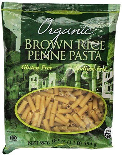 Trader Joe's Organic Brown Rice Penne Pasta-16oz (4 ()