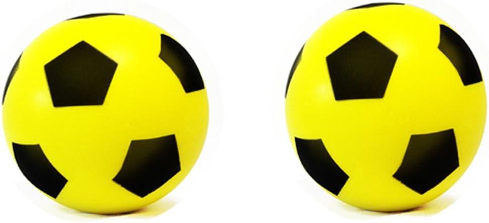 Tama/ño 4 /elige tu color E-Deals Esponja de Espuma Suave F/útbol Bal/ón de f/útbol para interiores y exteriores/ /varios colores/