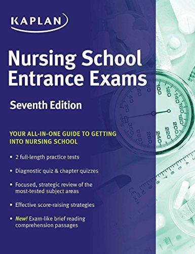 Kaplan Nursing School Entrance Exams (7th 2016) [Kaplan]