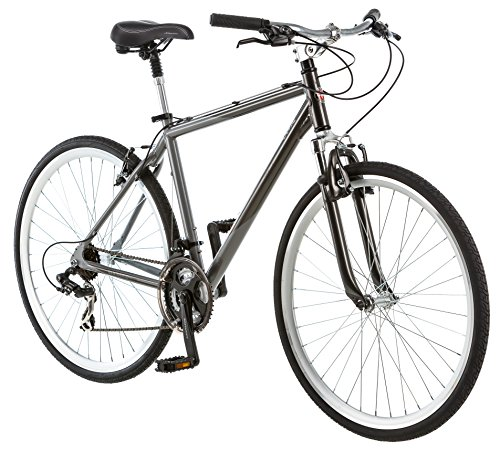 Schwinn Capital 700c Hybrid Bicycle for Men, Grey