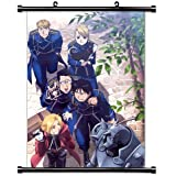 "Full Metal Alchemist Anime Fabric Wall Scroll Poster (16"" x 22"") Inches. [WP]-FullMetalAlch-570"