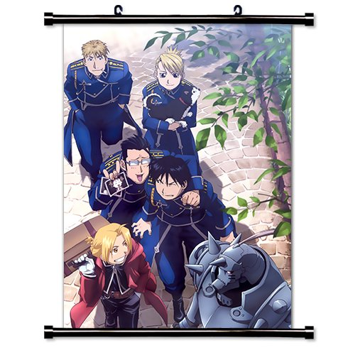 Full Metal Alchemist Anime Fabric Wall Scroll Poster (16