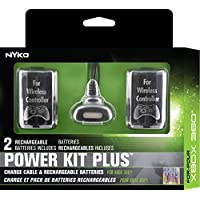 Nyko Power Kit Plus - 2 Pack Rechargeable Battery with...