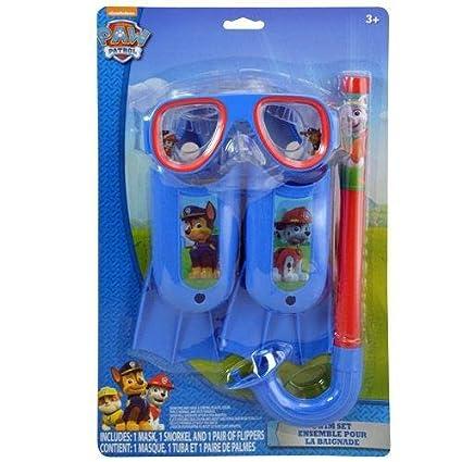 16dd5906af Nickelodeon paw patrol swim goggles mask snorkel flippers set jpg 425x425 Paw  patrol snarkle and goggles