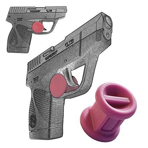 Garrison Grip ONE Micro Trigger Stop Holster Fits Taurus PT738 TCP 380 & PT732 .32 ACP s18 Pink (380 Pistol Pink Hand Grips)