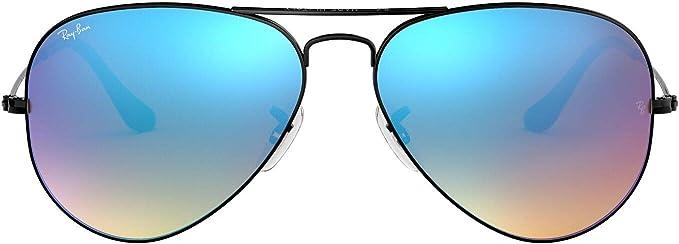 Pilotenbrille Aviator Green Unisex Sonnenbrille grün//silber