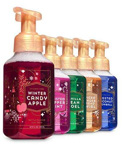(Bath & Body Works Christmas Soap - Holiday Traditions Gentle Foaming Hand Soaps (2018))