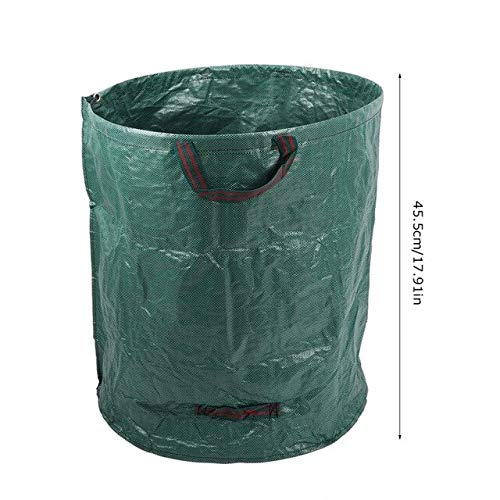 AloPW Yard Waste Bags 63 Gallons Foldable Large Capacity Garden Lawn Leaf Yard Waste Bag Container Multipurpose Garden Grow Bags