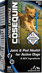 cosequin asu active lifestyle 30 count pet supplies. Black Bedroom Furniture Sets. Home Design Ideas