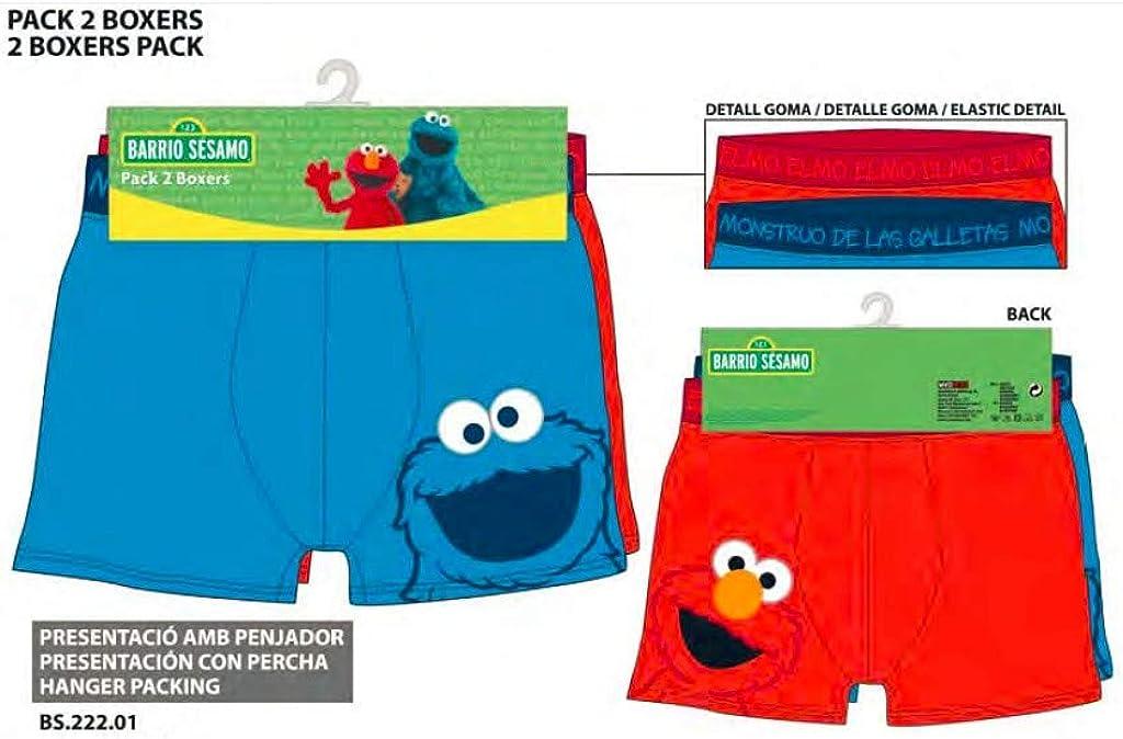 Genérico - Pack 2 boxers barrio sésamo talla 4: Amazon.es: Ropa y ...