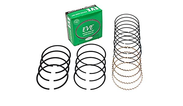 Evergreen RS3009-EVE.STD Fits 84-98 Nissan 200SX 300ZX Maxima 3.0L VG30E VG30DE VG30DETT Engine Piston Ring Set Standard Size