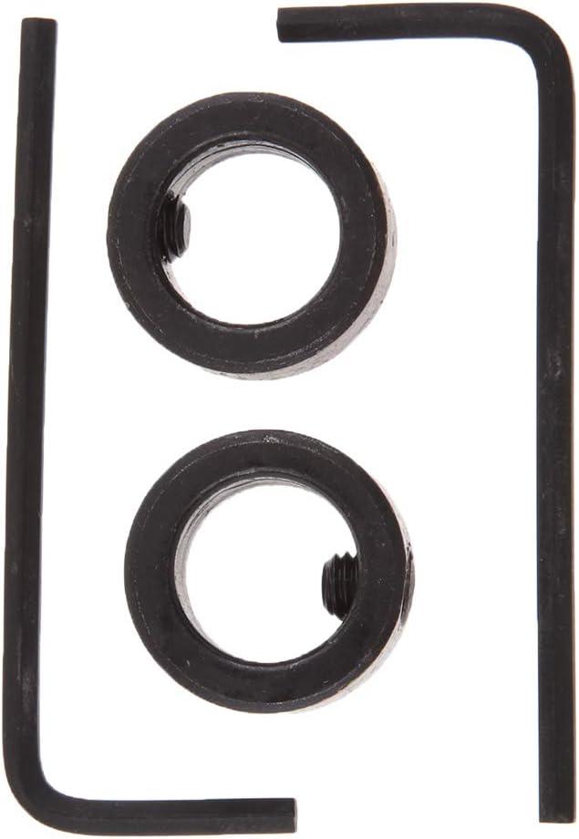 Homyl 1x Collar de Tope de Profundidad de Broca 2X Llave Hexagonal Parte de Industrias 3mm