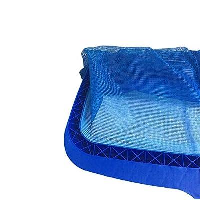 EPOARTIST Heavy Duty Leaf Skimmer deep with deep Bag Medium fine Mesh Long wear : Garden & Outdoor