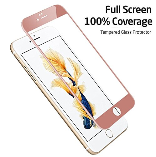 ed Glass Film Screen Protector for iPhone 7 (Rose Gold) ()