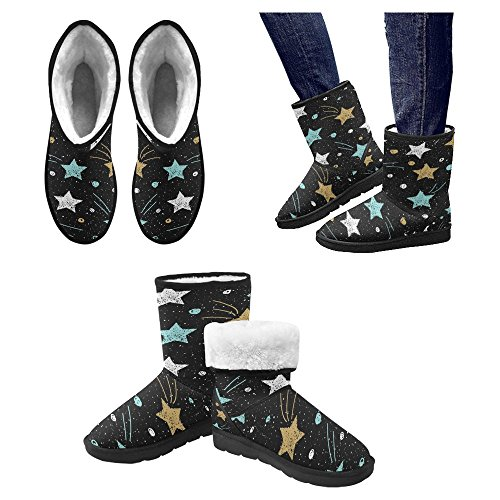 Snow Stivali Da Donna Di Interestprint Stivali Invernali Comfort Dal Design Unico 15