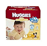 Huggies Little Snugglers Plus Diapers Size 2, 174ct by Little Snugglers