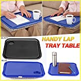 xiaokkiss Portable Handy Lap Top Tray Holder Laptop Table Durable Outdoor Learning Breakfast Desk