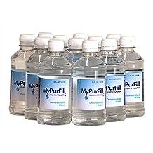 MyPurFill Demineralized Water 12 oz 12 Bottles - for MyPurMist