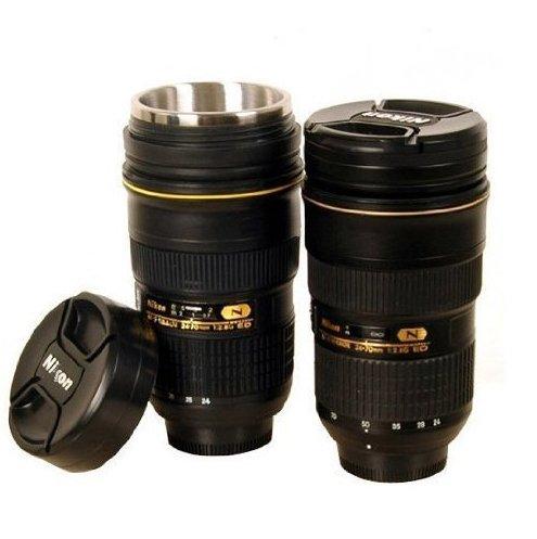 Price comparison product image Coffee Mug in the Shape imitation of Nikon 24-70 Lens