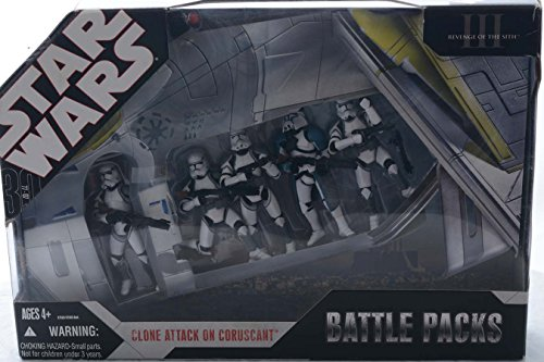 (Star Wars: 30th Anniversary Collection Battle Packs - Clone Attack On Coruscant)