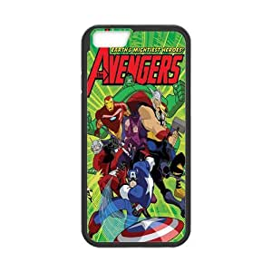 Customize Generic Rubber Material iPhone 6 Cover The Avengers Back Case Suitable For 4.7 inch iPhone 6