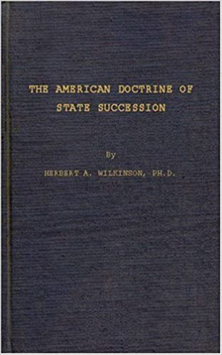 Book American Doctrine of State Succession (Studies in Human Rights)