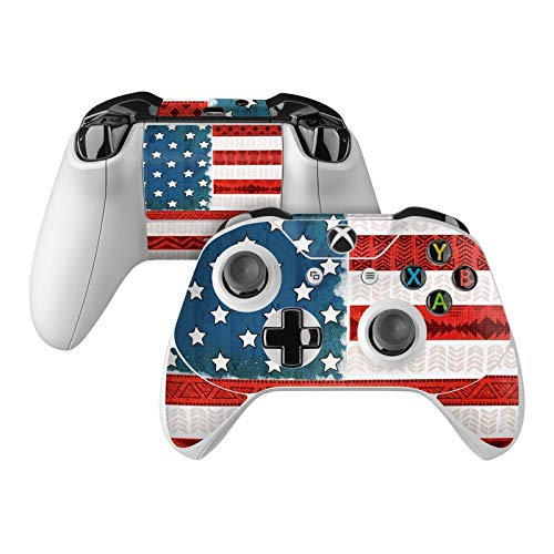American Tribe Skin Decal Compatible with Microsoft Xbox One and One S Controller - Full Cover Wrap for Extra Grip and Protection