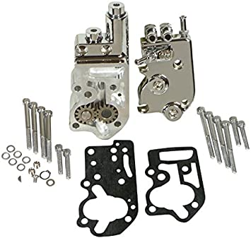 CHROME PLATED OIL PUMP MOUNTING KIT HARLEY SPORTSTER