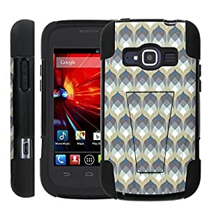 [ManiaGear] Rugged Armor-Stand Design Image Protect Case (Sadness Emotion ) for ZTE Concord II 2 Z730