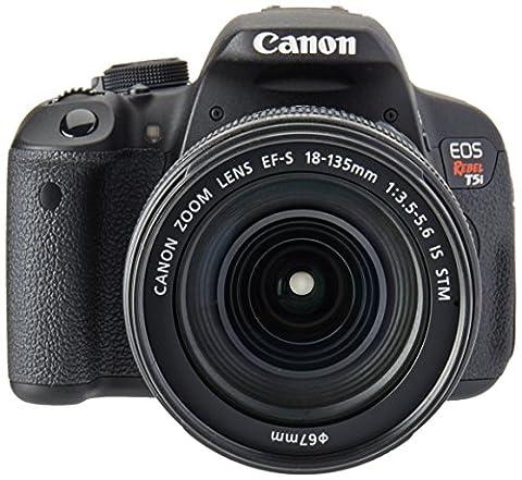 Canon EOS Rebel T5i 18-135mm IS STM Digital SLR Camera Kit (Black) - Canon Digital Rebel Kit