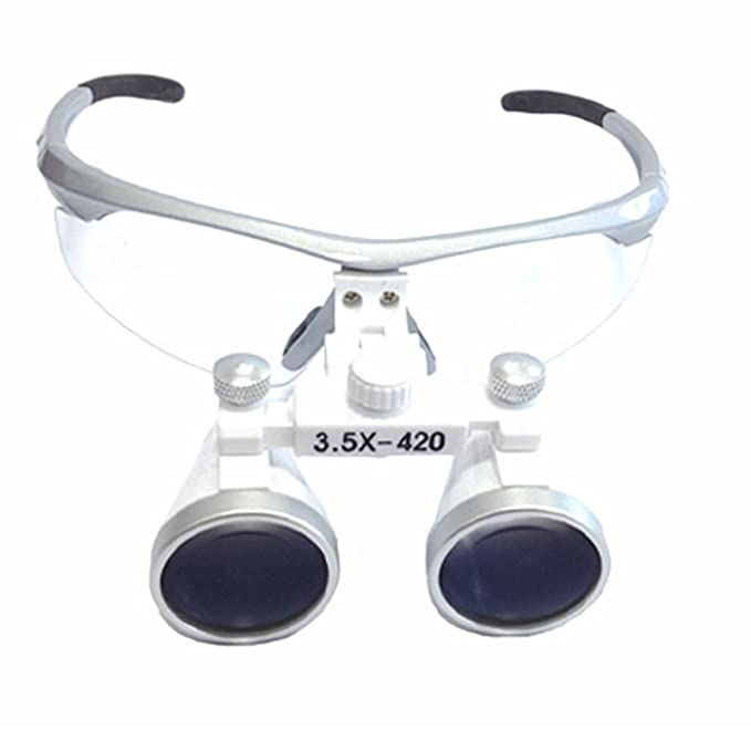 10 opinioni per Bestdental- Occhiali da dentista con binocoli da 3,5 x 420 mm