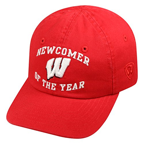 Top of the World Wisconsin Badgers Official NCAA Adjustable Infant Newcomer  Hat . 0f669505ec91