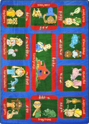 Joy Carpets Signs on the Farm Kids Rug