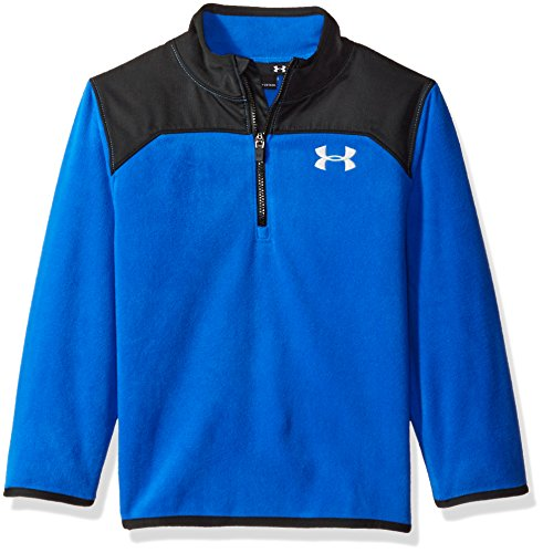 Under Armour Toddler Boys' 1/4 Zip Long Sleeve Top, Ultra Blue, 2T