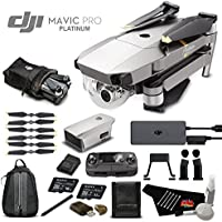 DJI Mavic Pro Platinum (Obsidian) Starters Bundle (Version 2)
