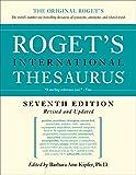 Roget's International Thesaurus 7th Edition