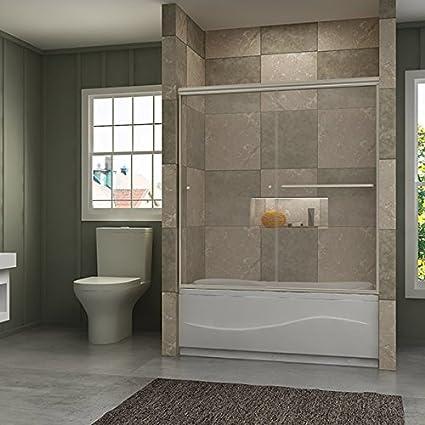 Amazon.com: Sunny - Puertas de ducha para bañera de ducha de ...