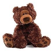 GUND Philbin Teddy Bear Stuffed Animal Plush, Chocolate Brown, 12