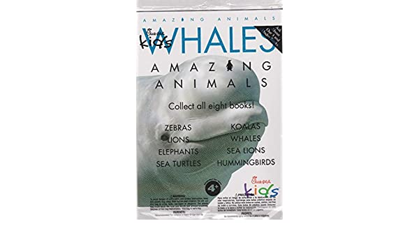 Chick-fil-A Amazing Animals: Whales: Amazon.com: Books